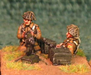20mm, WW2 British Infantry BLA25 AB 6 figures